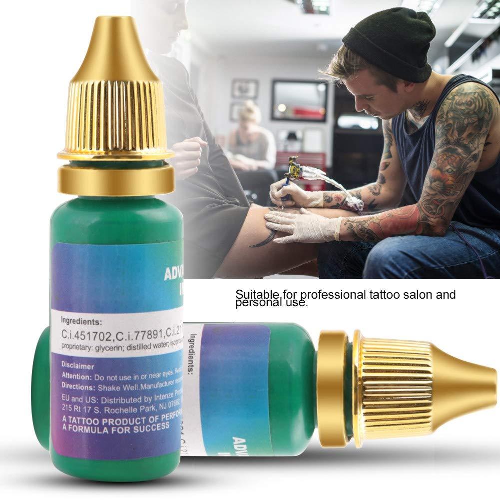 12ml Tinta para Tatuaje - 7 colores tatuaje, espesor Tinta del ...