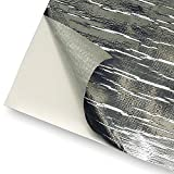 DEI 010460 Reflect-A-Cool Heat Reflective Adhesive Backed Sheets, 12'' x 12''
