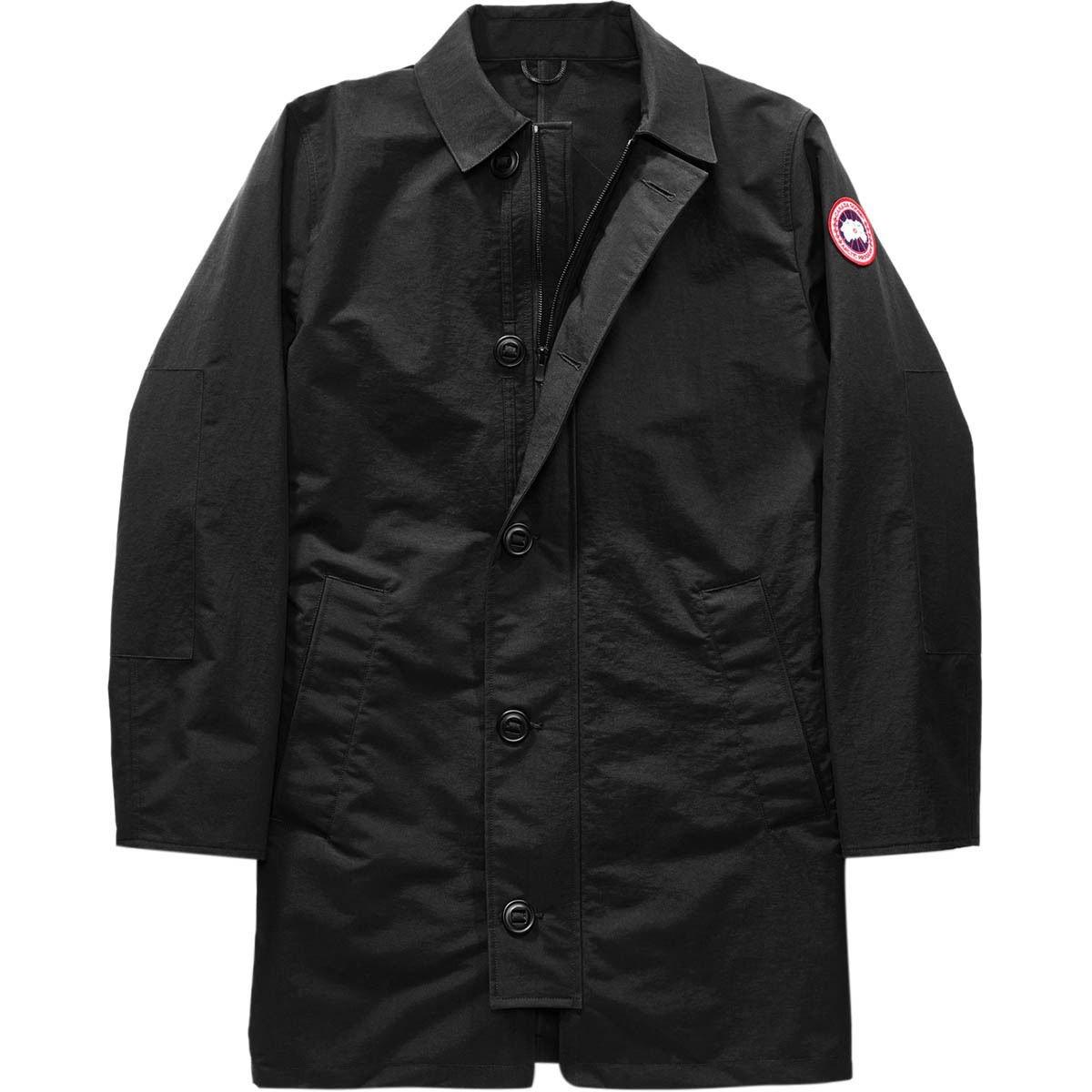 (カナダグース)Canada Goose Wainwright Coat メンズ ジャケットBlack [並行輸入品] B0797MZ9BS 日本サイズ LL (US L)|Black Black 日本サイズ LL (US L)