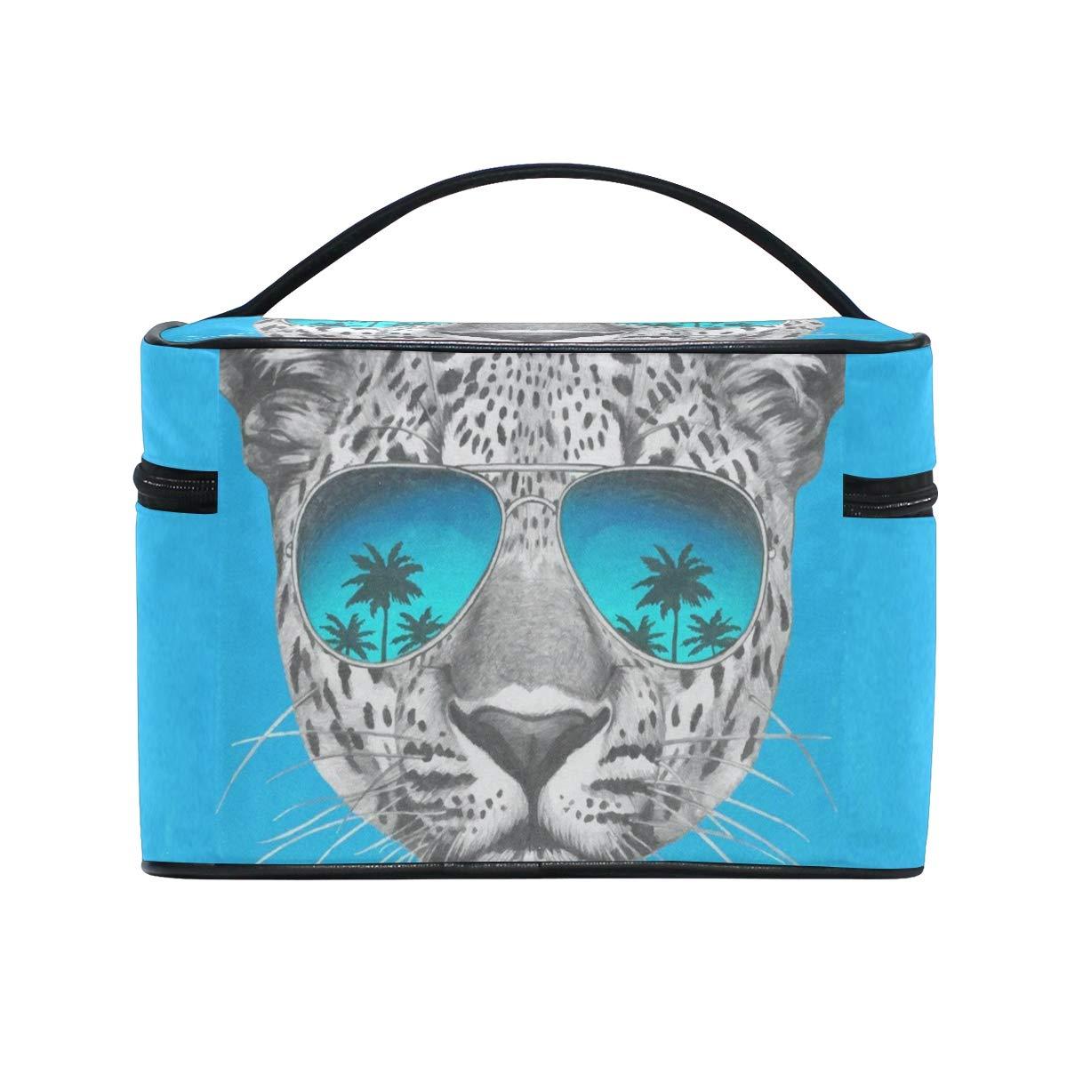 0dc888a86f90 Amazon.com : Cosmetic Bag Juicy Watermelon Womens Makeup Organizer ...