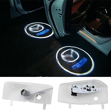 Xystar 2 Stück Autotür Logo Einstiegsbeleuchtung Projektion Licht Türbeleuchtung Ghost Shadow Welcome Licht Auto