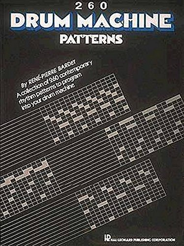 Pdf eBooks 260 Drum Machine Patterns