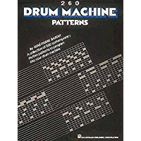 260 Drum Machine Patterns book cover