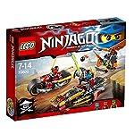 LEGO Ninjago 70600 - Inseguimento sulla Moto dei Ninja LEGO
