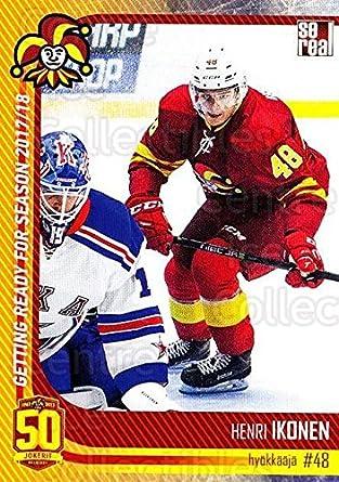 (CI) Henri Ikonen Hockey Card 2017-18 Finnish Jokerit Helsinki Sereal G25  Henri 280b0043710