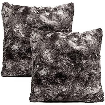 products over williams cover zoom roll pillows fur gray fox to image c sonoma pillow faux