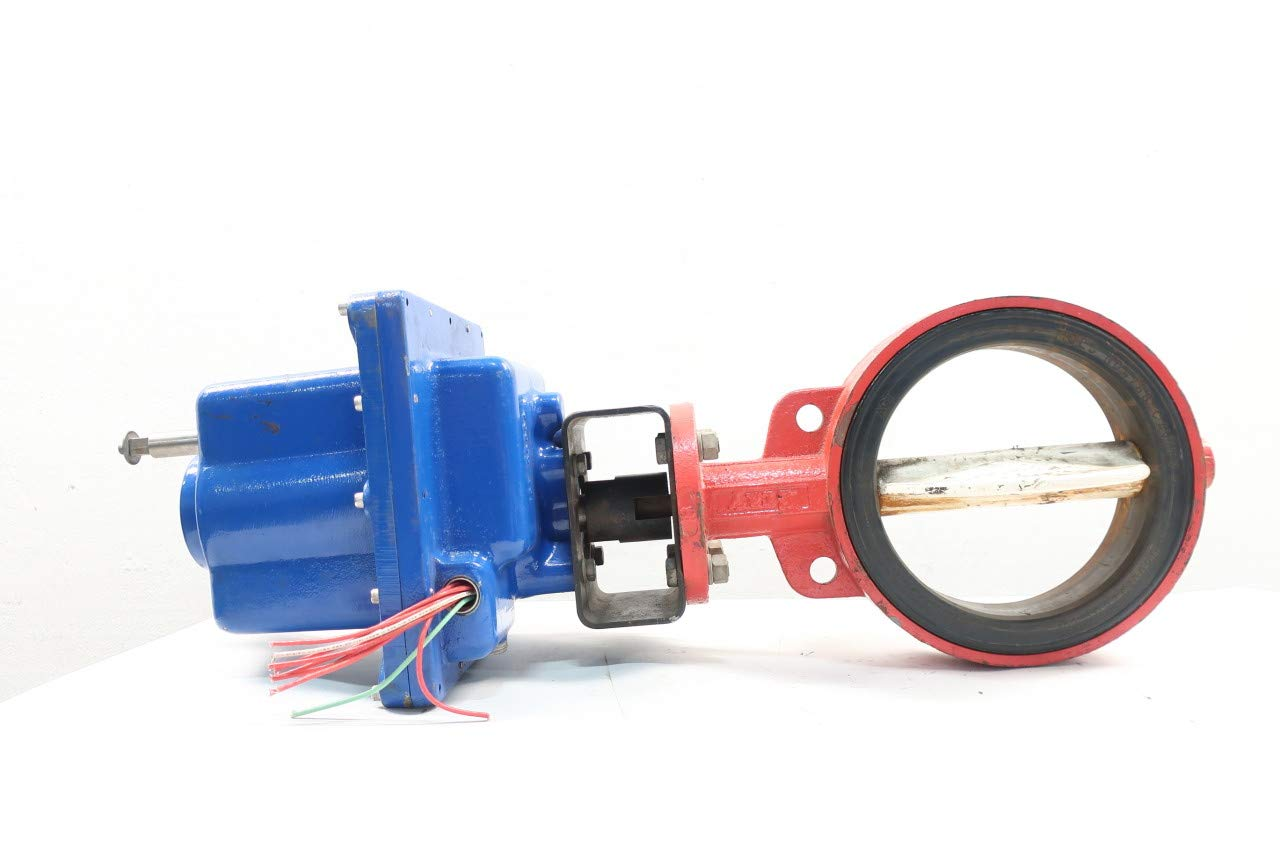 BRAY 521 Pneumatic Iron 200 Wafer 8IN Butterfly Valve