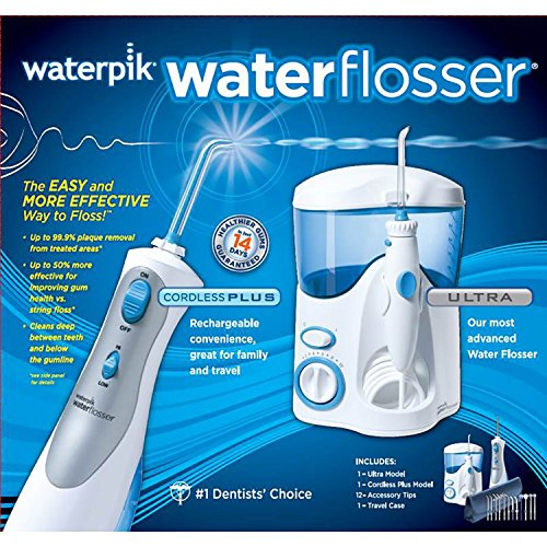 Waterpik Ultra Water Flosser Combo, Model WP-100 And WP-450 by Waterpik