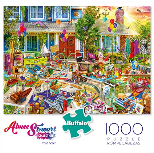 Buffalo Games - Aimee Stewart - Yard Sale - 1000 Piece Jigsaw Puzzle
