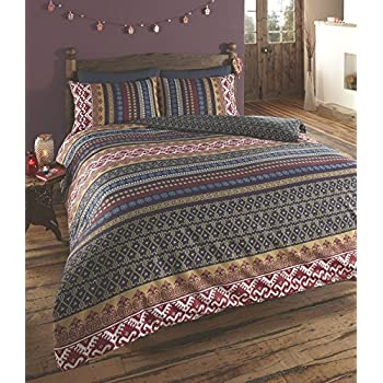 Amazon Com Indian Ethnic Print Reversible Duvet Quilt Cover Bedding