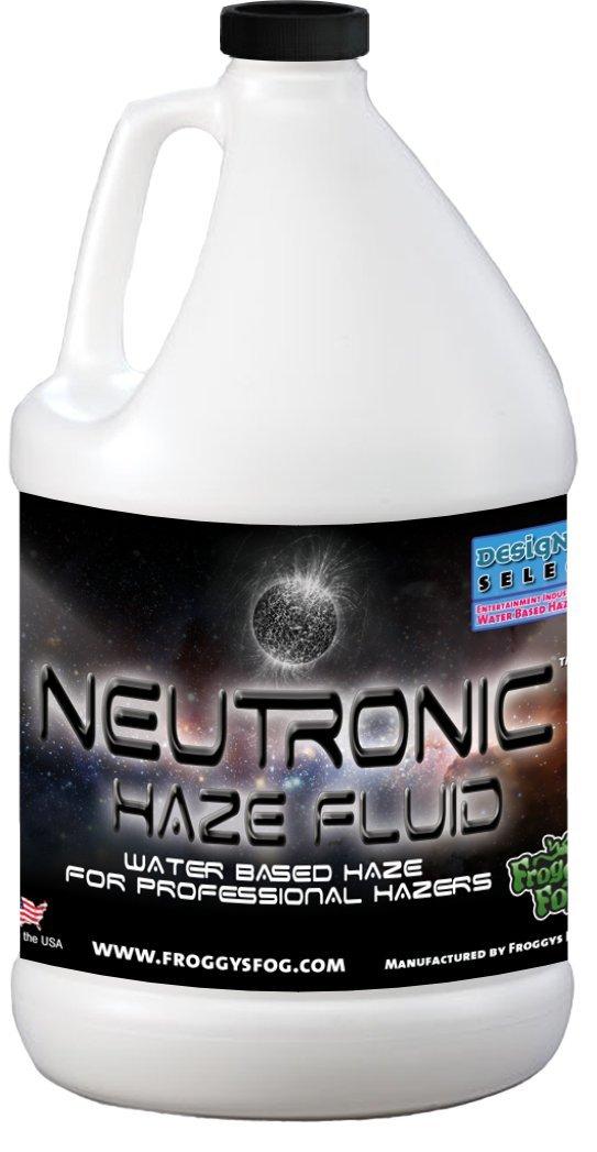 Froggys Neutronic Haze Fluid - Specially Formulated Haze Liquid - 1 Gallon / 3.785 Liters