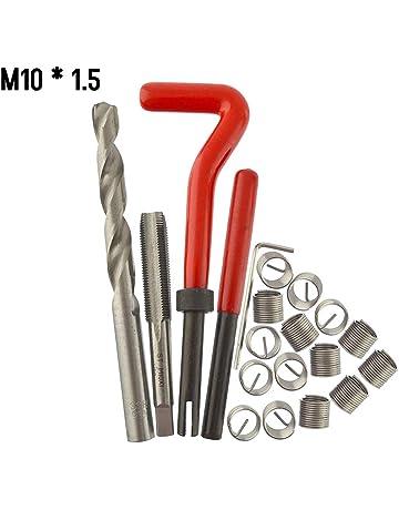 Home Appliances Rail Car Thread Repair Kit M8 x 1.25 Thread Repair Kit Self Tapping Thread Inserts Tool Set for Automobiles