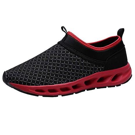 Bestow Malla de Hombre Casual cómodo Transpirable Calzado Deportivo Zapatos para Caminar Zapatos de Hombre: Amazon.es: Ropa y accesorios