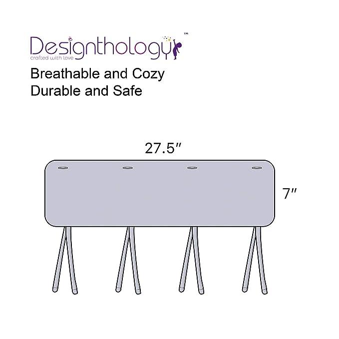 Designthology (U.S.) - Funda para riel estrecho y transpirable ...