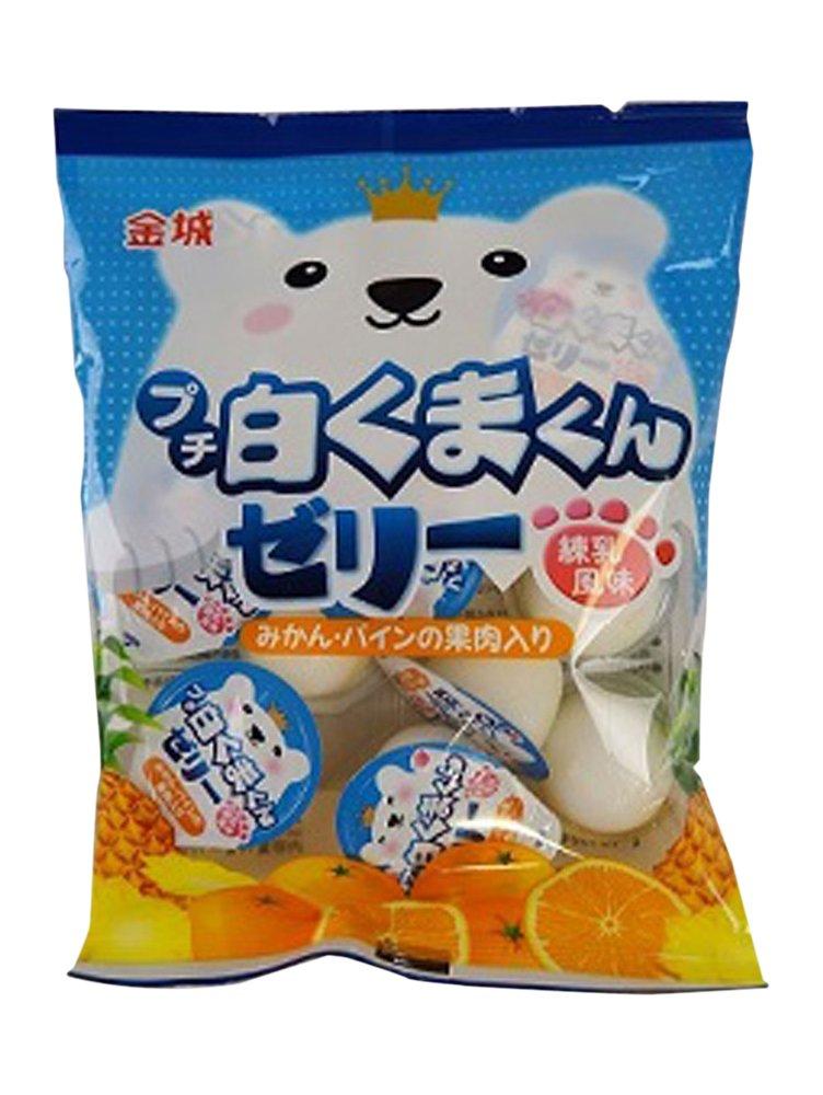 Kinjo Confiter?a Petit blanco Makoun 16gX30 o jalea sabor de la leche condensada: Amazon.es: Alimentación y bebidas