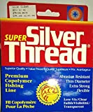 silver thread fishing line - Silver Thread Pradco Super Filler Spools Fishing Line-275 Yards (Clear, 20-Pound Test)