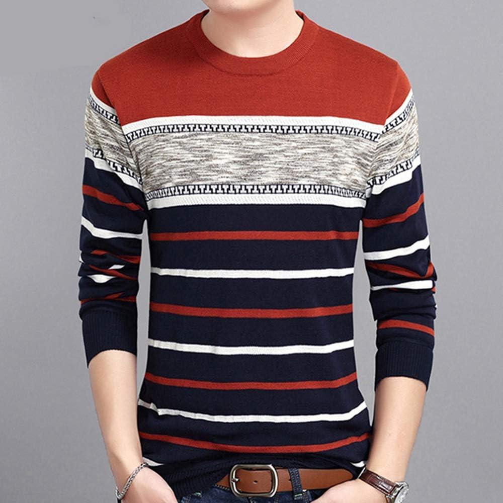 Bowen Jimmy Mens Sweaters Autumn Round Collar Pullover Men Knit ...