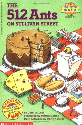 Read Online 512 Ants on Sullivan Street (Hello Reader, Math, Level 4, Grade 2 & 3) pdf