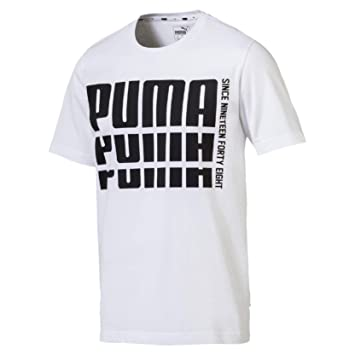 2def49b467 Puma Rebel Bold Basic Tee T-Shirt Homme: Amazon.fr: Sports et Loisirs