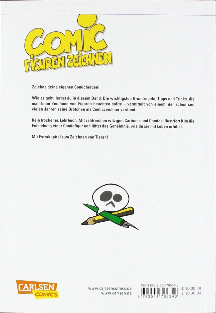 Comicfiguren zeichnen: Step by Step: Amazon.de: Kim Schmidt: Bücher
