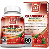 BRI Nutrition 3x Strength 12,600mg CranGel Power Plus: High Potency, Maximum Strength Cranberry