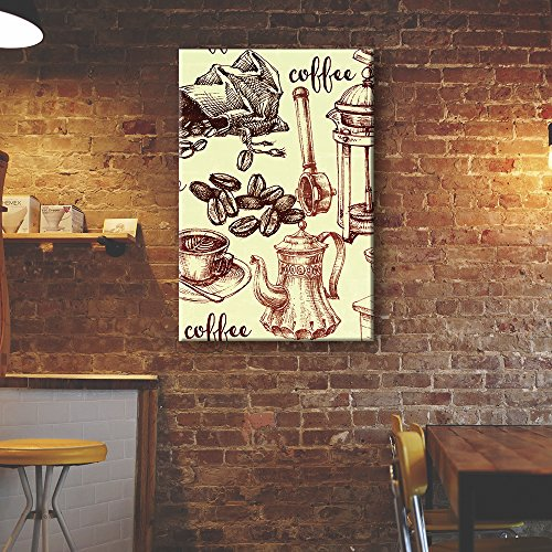 Vintage Style Coffee Elements