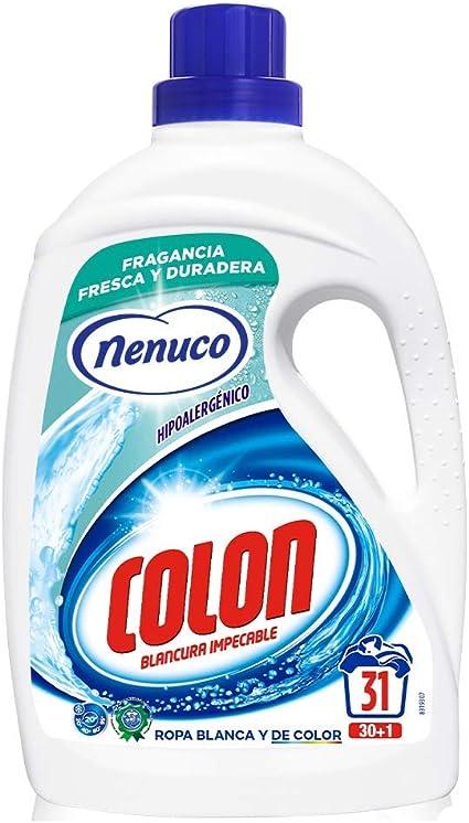 Colon Detergente para Ropa Líquido Hipoalergénico Fragancia Nenuco ...