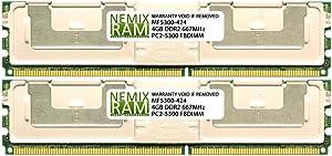 SNP9F035CK2/8G 8GB (2 x 4GB) for DELL Precision T5400 by Nemix Ram