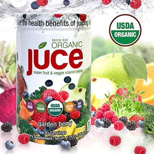 Terra Kai Expect More Organic Juce Super Fruit & Veggie Vitamin Blend, 12.2 Ounces