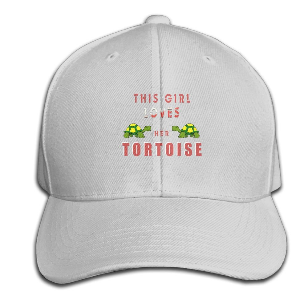 HXXUAN Baseball Hats Tortoise Loves Snapback Sandwich Cap Adjustable Peaked Trucker Cap