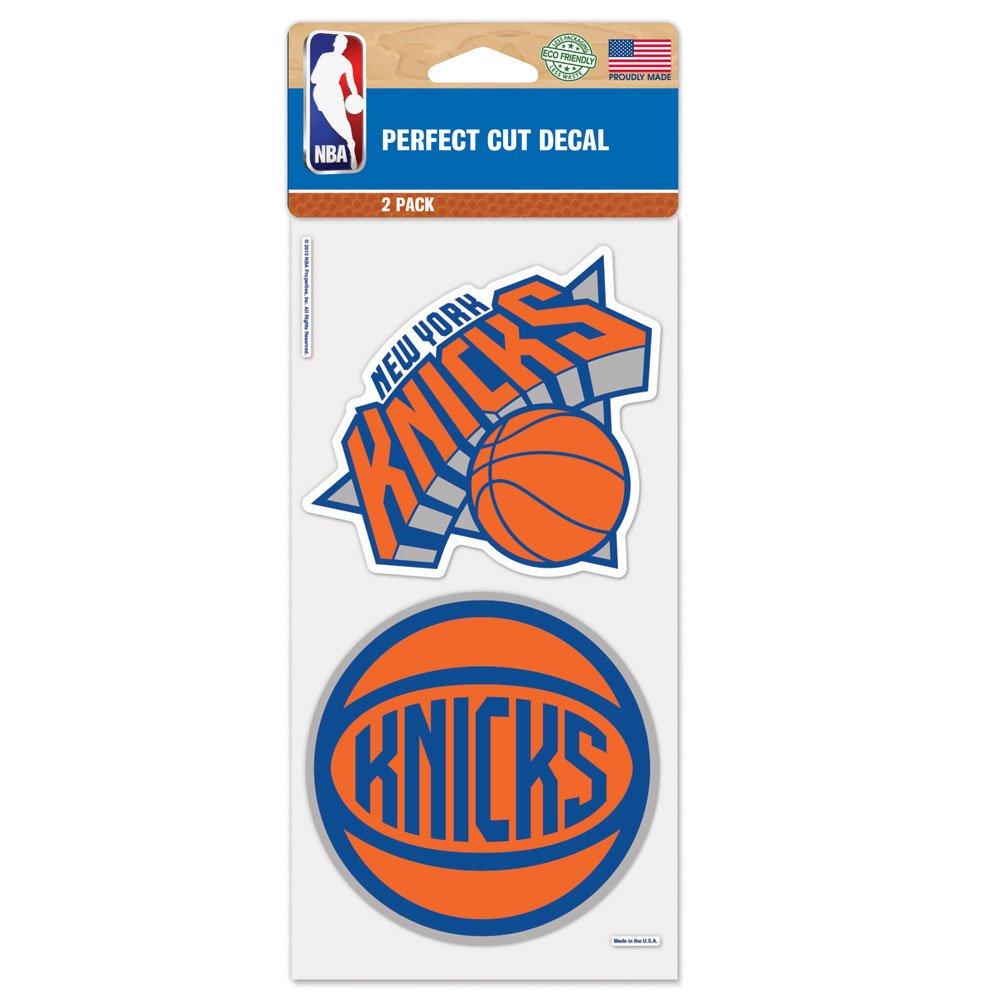 NBA New York Knicks Perfect Cut Decal, 4 x 8-Inch, Multi