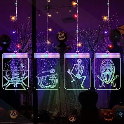 Amazon Com Franterd 3d Usb Hanging String Lights Led Night