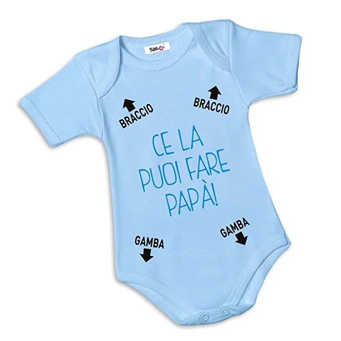 Babloo - Pelele para bebé con texto en italiano