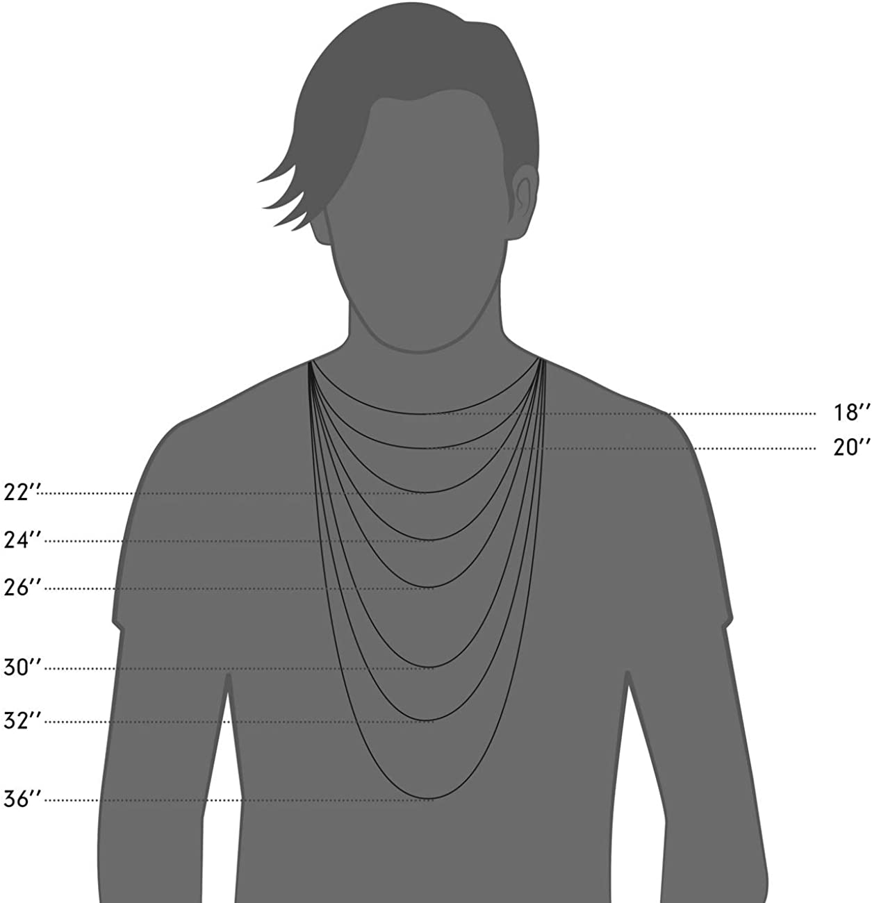 MOWOM Silver Chain Wheat Necklace for Men Women Boys Kids 316L Stainless Steel Water Resistant Cuban Link Chain Wheat Thick Jewelry