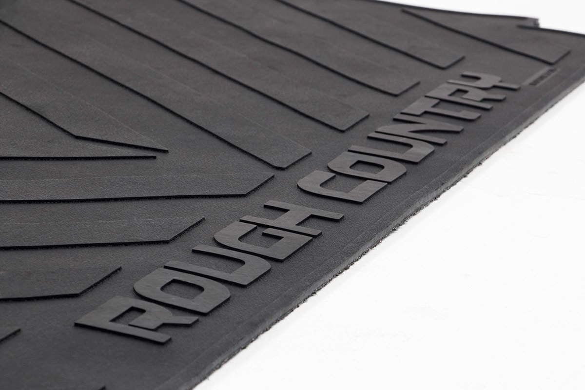 2019 Ranger 5 FT Bed Rubber Bed Liner RCM663 Rough Country Rubber Bed Mat fits
