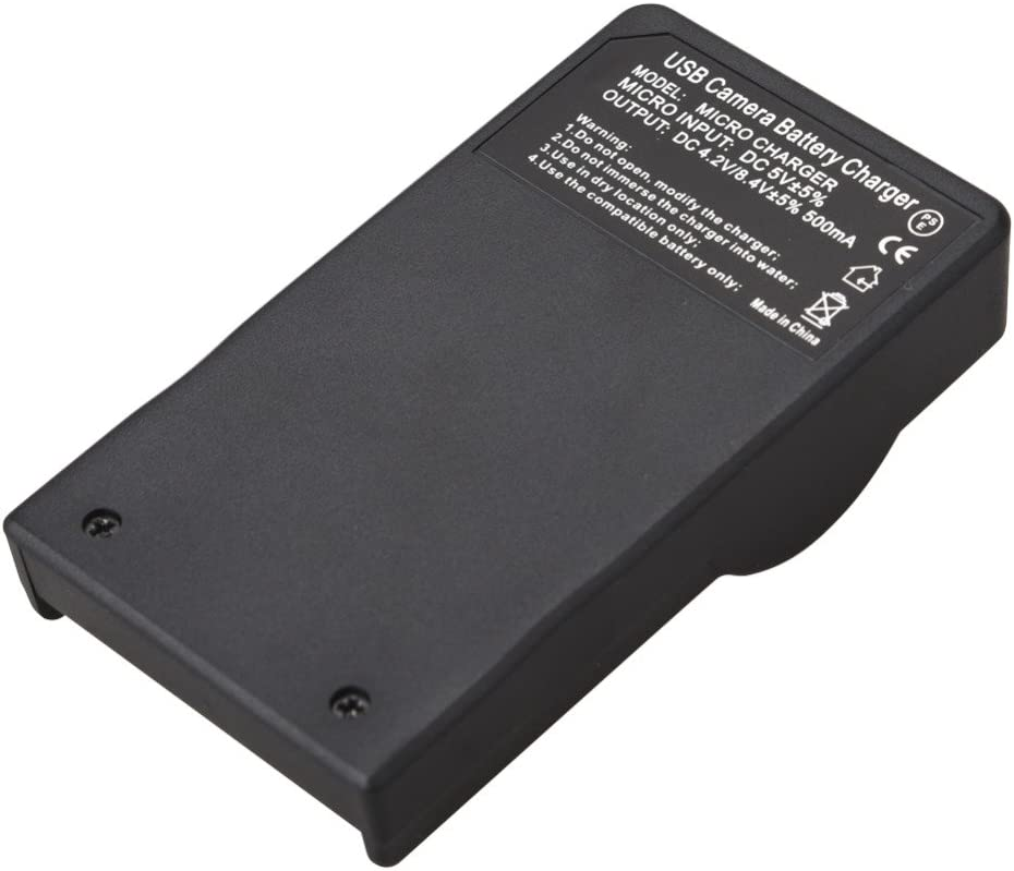 Smart Slim Micro USB Battery Charger for JVC Everio GZ-MG630AUS GZ-MG630SUS Camcorder GZ-MG630RUS