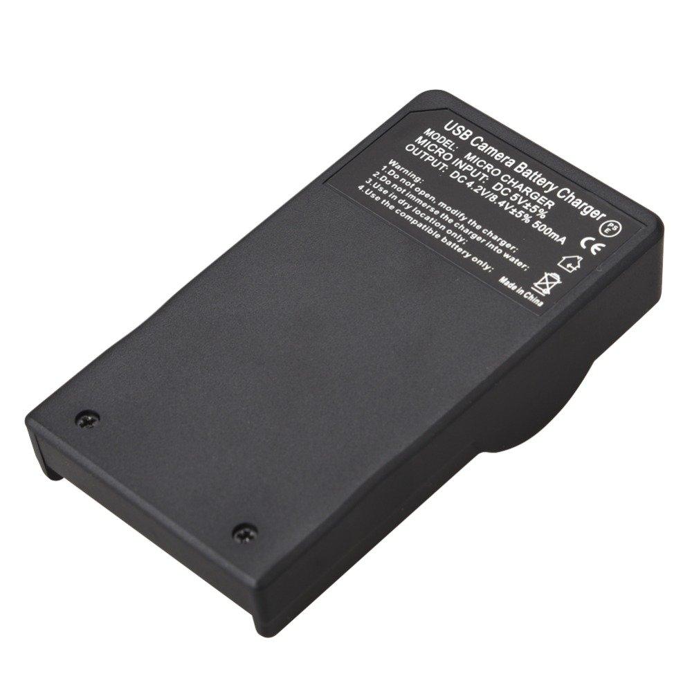 Smart Slim Micro USB Battery Charger for Canon PowerShot SX620 HS SX720 HS SX730 HS Digital Camera