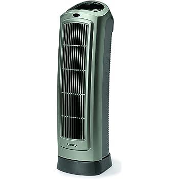 amazon com lasko 5538 ceramic tower heater with remote control rh amazon com