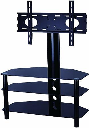 Mountright – Soporte de Cristal Soporte para televisores de hasta 50 Pulgadas, LED, LCD y Plasma Pantalla – Negro Brillante: Amazon.es: Electrónica