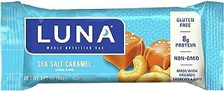 product image for Clifbar Luna Bar - 15 Pack Sea Salt Caramel, One Size