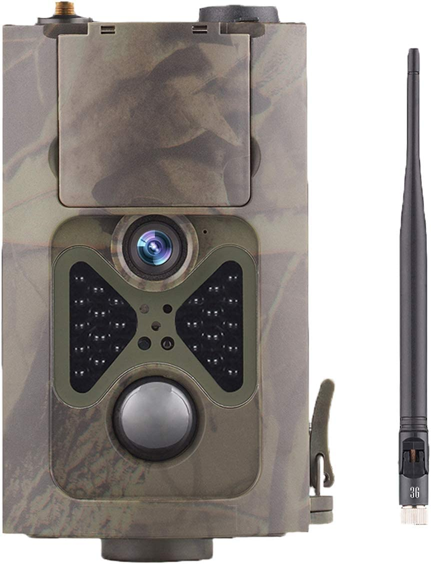 Suntekcam 3G Cellular Trail Camera – 20MP 1080P Game Hunting Camera with 2.4' LED Night Vision Motion Activated for Deer Hunting, Security IP65 Waterproof