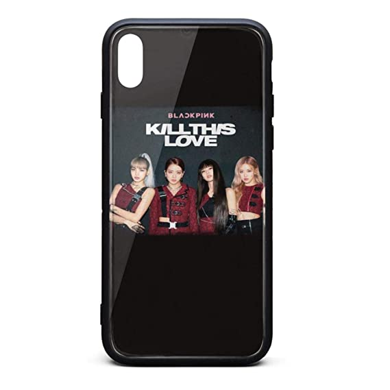 new styles 3ab65 f897c Amazon.com: Blackpink-Kill-This-Love- Phone Case for iPhone X/XS TPU ...