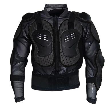 Dexinx Chaqueta de la Armadura de la Motocicleta de la Montaña de Motocross Ciclismo Patinaje de Snowboard Protector del Cuerpo Negro L: Amazon.es: Ropa y ...