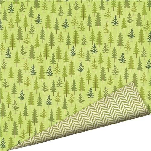 Imaginisce Outdoor Adventure Forest 12x12 Scrapbook Paper