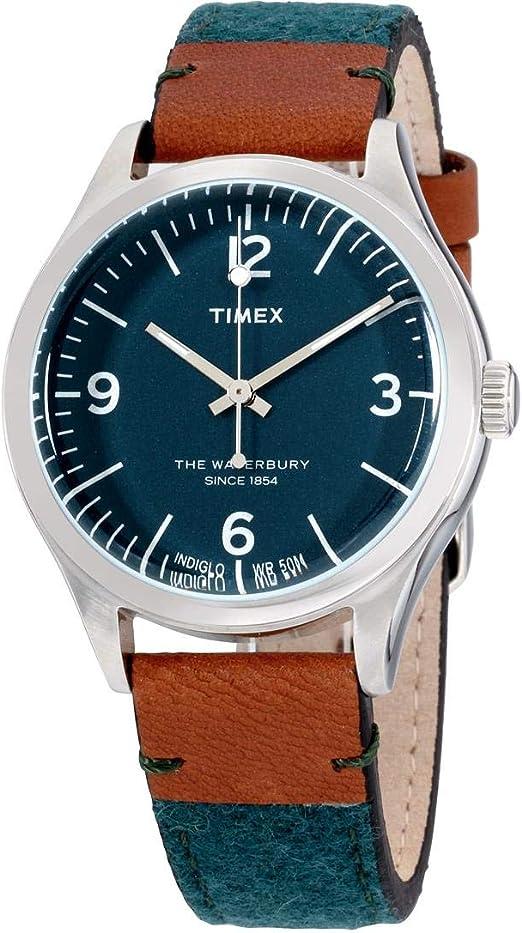 bracelet cuir timex