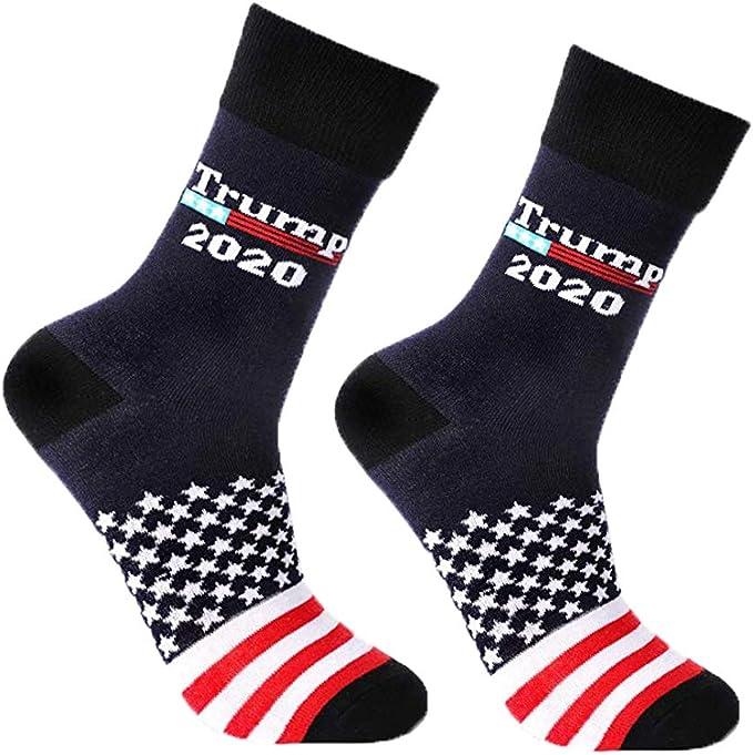 Unisex Donald Trump Socks 2020 Make America Great Again Republican Stocking Win