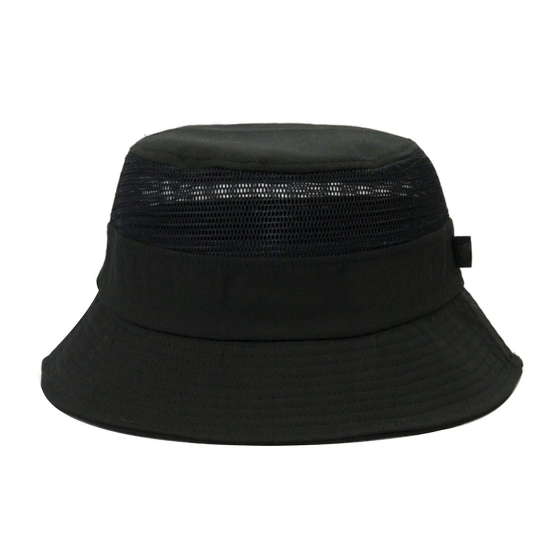 Letter Embroidery Wide Large Brim Cap Women Mesh Breathable Cotton Sun Hat Summer Beach Foldable Anti-Uv Hat