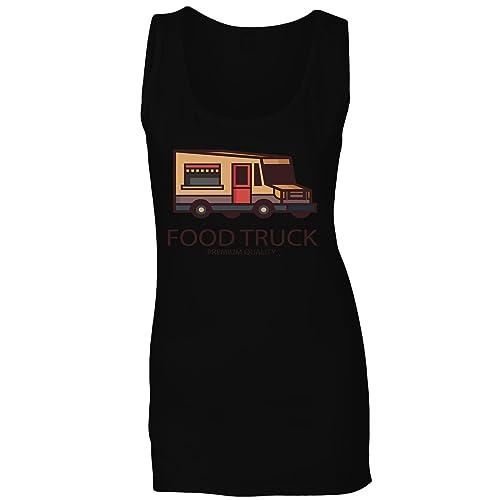 Migliore Camion Cibo canotta donne r371ft