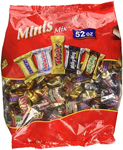 (Mars Mini Favorites 52oz variety candy)