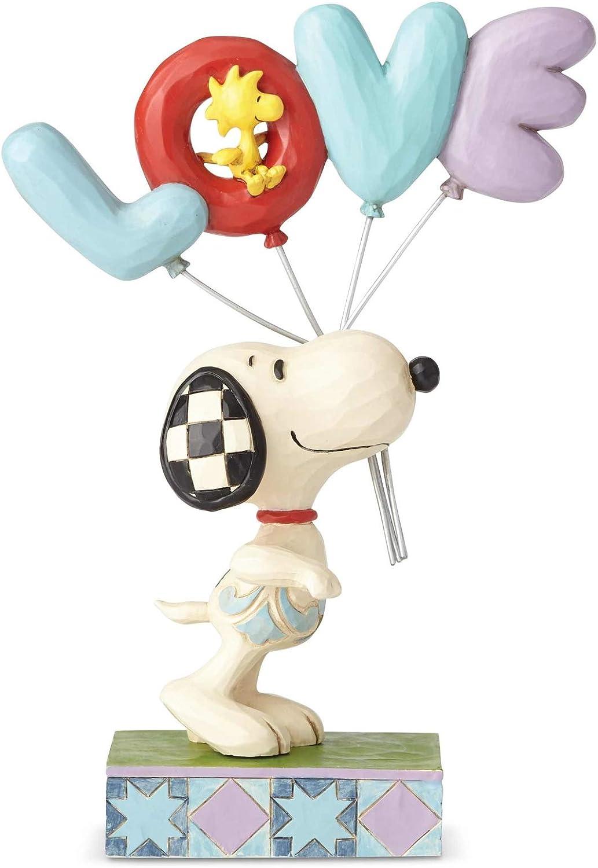 NEW PEANUTS Snoopy /& Woodstock Love Balloons Figure Jim Shore Sweet Gift